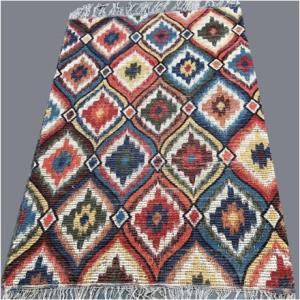 Digital Print Cotton Chindi Rug