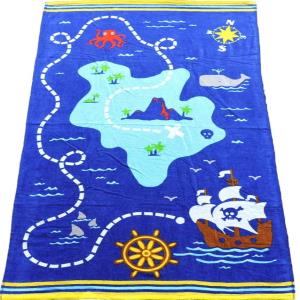 100% Cotton Digital Print Terry  Bath Towels