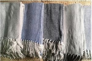 Big Diamond Cotton Throw