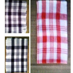 Waffle weave kitchen towels stock