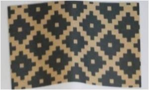 PVC Backed Printed Coir Mat