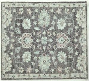 Wool Hand Tufted Micro Loop Persian Pattern Carpets