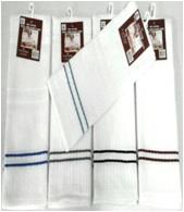 cotton terry towels  set of 3 with a belly band