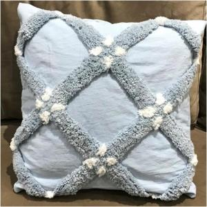 Hand Woven Tufted Cushion