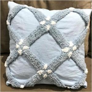 Hand Woven Tufted Cushion