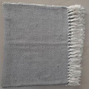100% Cotton Throws ( no mill dyed Recycled Yarn)