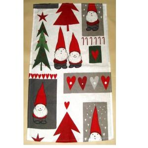 Christmas Design Printed Kitchen towels stock