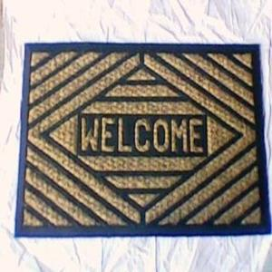 ET-918- COIR BRUSH RUBBER MAT STOCK