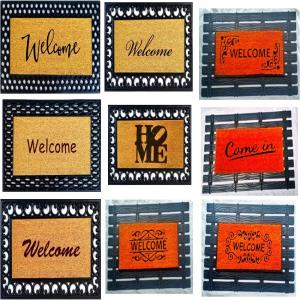 Coir & Rubber Door Mats