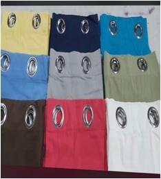 100% Cotton Grommet Curtain