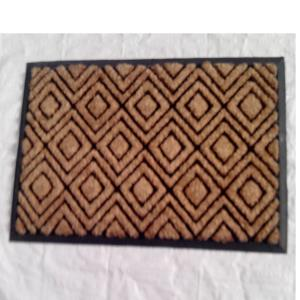 ET-92- COIR BRUSH RUBBER MAT STOCK