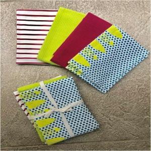 4pack Printed Tea towel