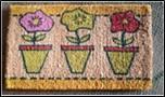 100% Coir BC1 Natural & Bleached Printed Coir mats