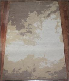 Micro chenille Carpets  with latex & cotton canvas backing