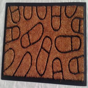 ET-03- COIR BRUSH RUBBER MAT STOCK