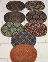 Jute Printed  Braided Rugs