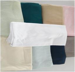 100% Cotton Dobbie Design Throws