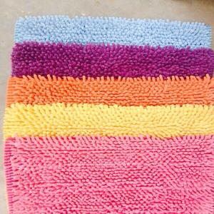 UV Clear Micro Shaggy Bathmat stock