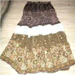 Long Skirts in Cotton