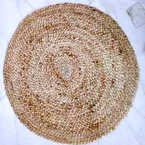 100% Jute Braided Round Rugs