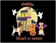 Dog Haunted House Placemat & Runner