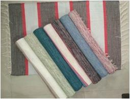 100% Cotton Heavy Quality Stripe Rugs