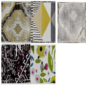 PP Area & Accents Rugs with Spray Latex Backing