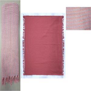 Designer Cotton Dobbie Diamond & Stripe Throws