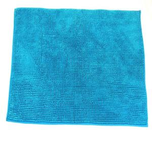 Micro chenille Bathmats with spray latex coating stock