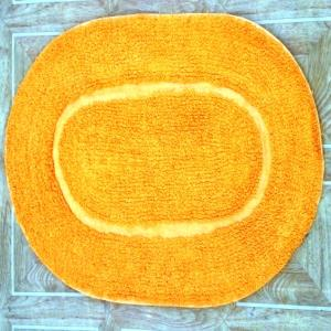 Bath mat oval reversible stock