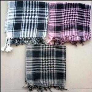 cotton scarves stock
