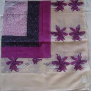 Polyester scarves stock