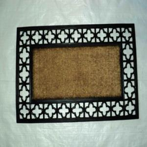 WS-01- COIR BRUSH RUBBER GRILL MAT STOCK