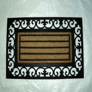 WS-02- COIR WITH RUBBER GRILL MAT STOCK