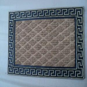 WS-21- FANCY COLOR COIR WITH RUBBER GRILL MAT STOCK