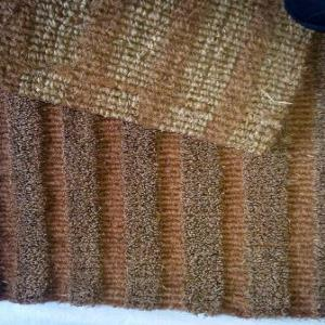 BC 1 Grooved Coir  mat with Sea grass pile Stock