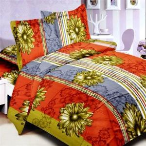 Printed Cotton Bed Sheet fabric stock