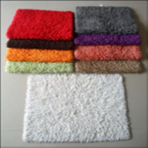cotton shaggy Bathmat stock