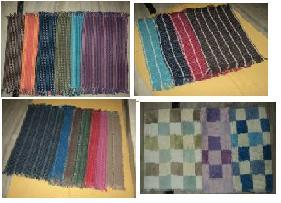 Cotton/Shoddy Durries Rugs