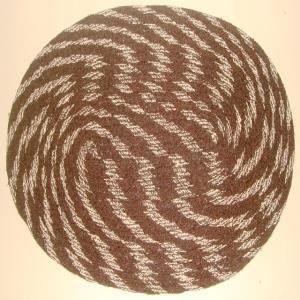 Oval Braided Rugs Stock