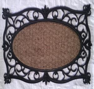 WS-64- COIR WITH RUBBER GRILL MAT  STOCK