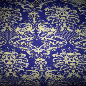 Printed Slub Rayon Fabric Stock