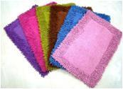 Border Shaggy Bathmats