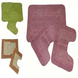 3 Pcs Bathmat Stock