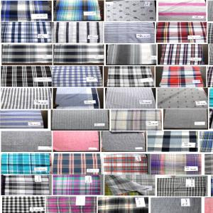 Mercerized Cotton shirting fabric Stock