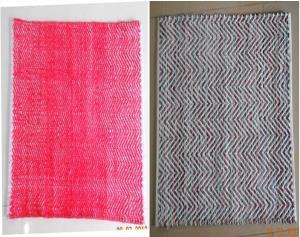 Cotton Check Rug Stock