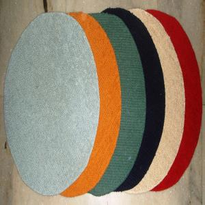 Latex backed Round Loop Bathmat Stock