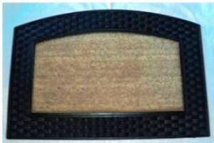 ws-139 COIR BRUSH RUBBER GRILL MAT STOCK