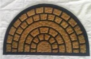 ws-142 coir with rubber mat Stock
