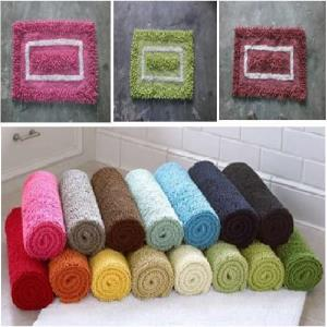 Cotton Shaggy Bathmats